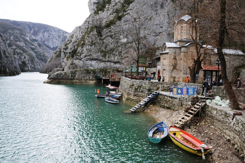 Lake Matka in Macedonia