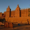 Mali's mosques are a remnant of the Songhai and Mali empires impacts on the region.