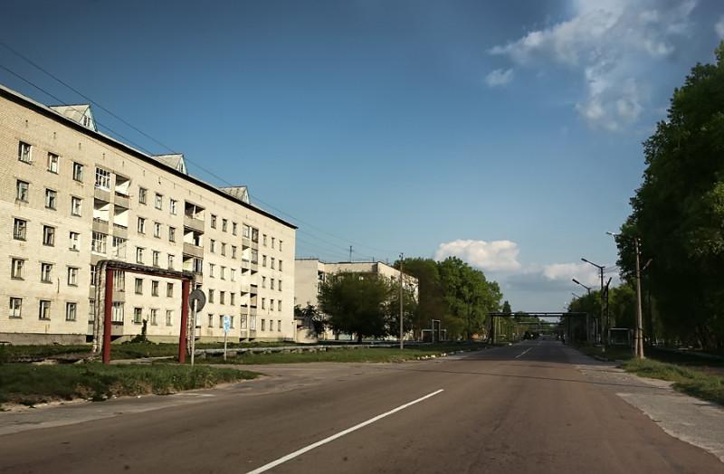 Chernobyl's Kirova Street.