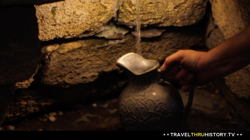 Fantastic and fresh water from The Fountain of Youth. Photo Credit: Travelthruhistory.tv