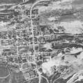 Aerial shot of Centralia, PA in 1981.