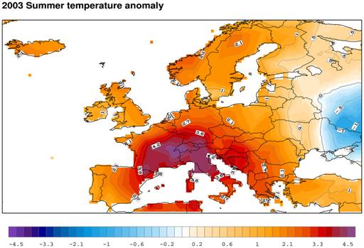 Heat: an unexpected natural disaster.