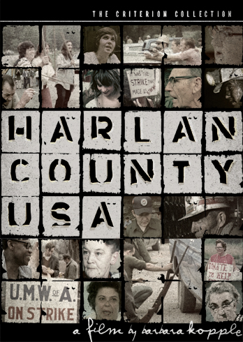 Movie poster for Harlan County, USA