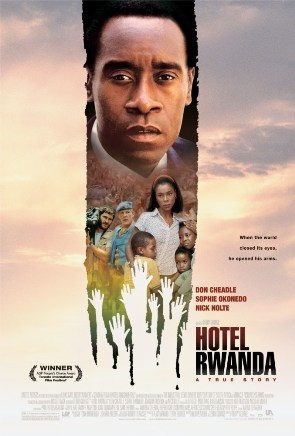 Movie poster for Hotel Rwanda