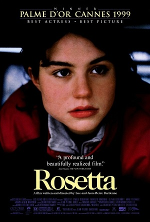Movie poster for Rosetta (1999)