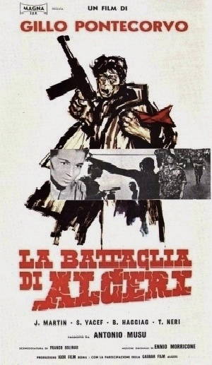 Movie poster for The Battle of Algiers