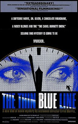 Movie Poster for The Thin Blue Line (1988)