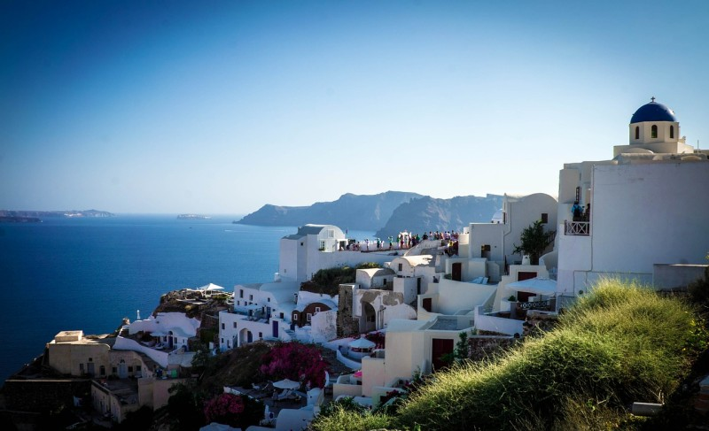 Check out Santorini on a history cruise.