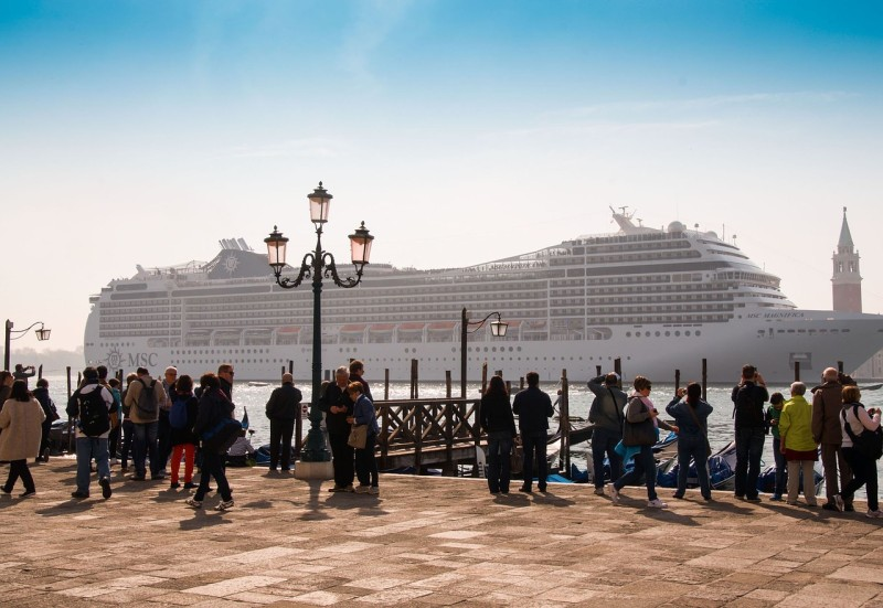 Cruise your way through history on a luxurious ship.