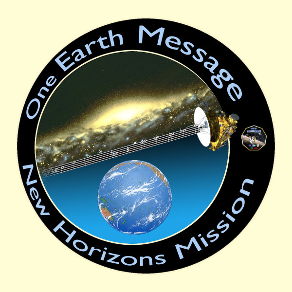 An image by Jon Lomberg representing the New Horizons One Earth Message