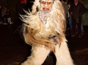 Just one of many scary, spooky depictions of Krampus.