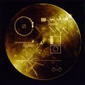 The Golden Record, a message to our neighbors in space.
