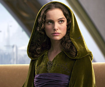 Natalie Portman as Padme Amidala in Episode III
