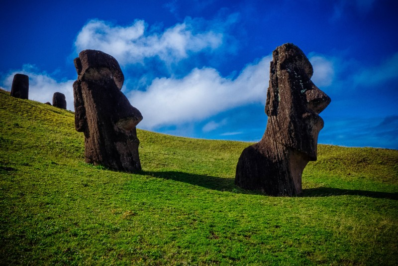 More than just heads, the Moai statues on Easter Island