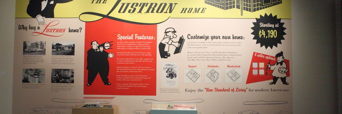 Lustron homes are now museum fodder. Photo by Sam Howzit.