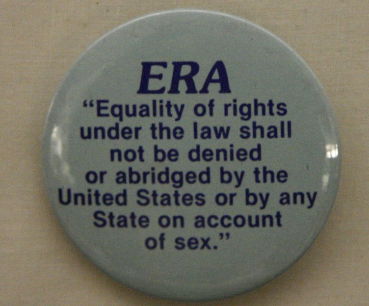 The Equal Rights Amendment. Photo by David on Flickr.