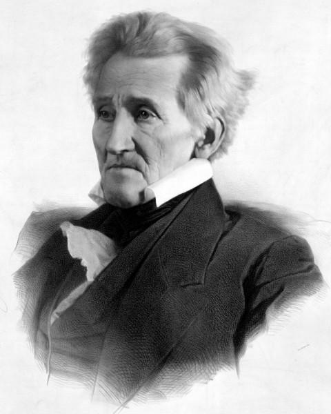 Andrew Jackson in 1856
