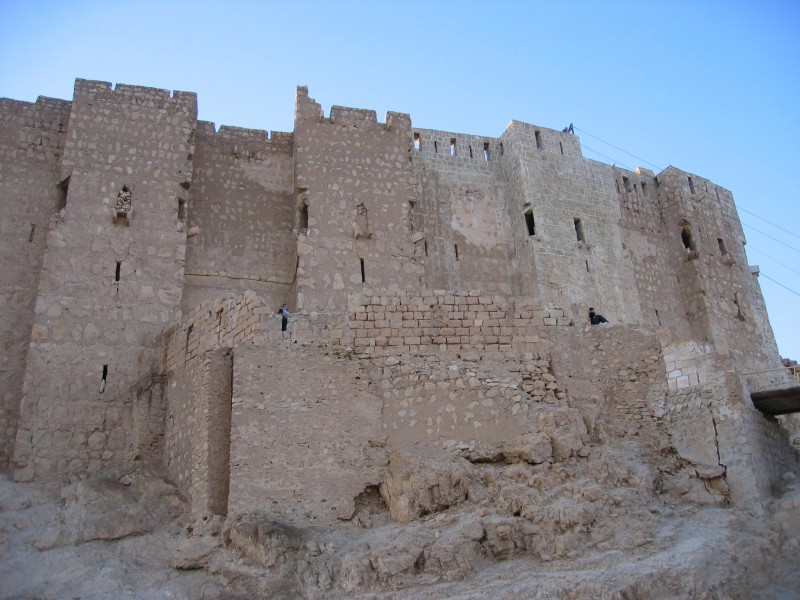 Ibn Maan fortress has some impressive walls...