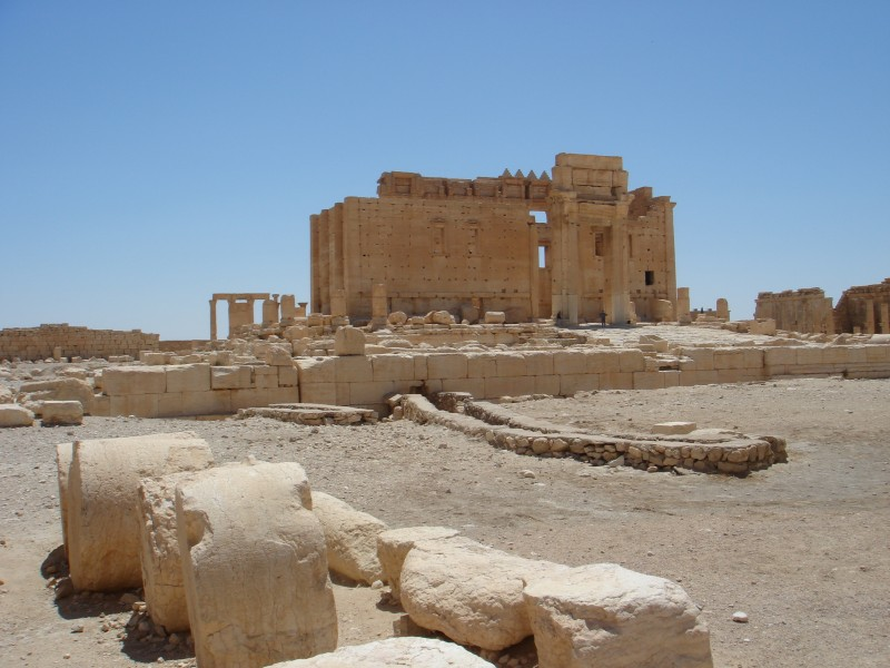 One landmark ISIS destroyed in Palmyra.