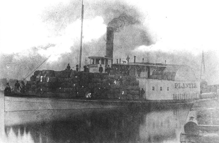 Robert Smalls' ship, The Planter.