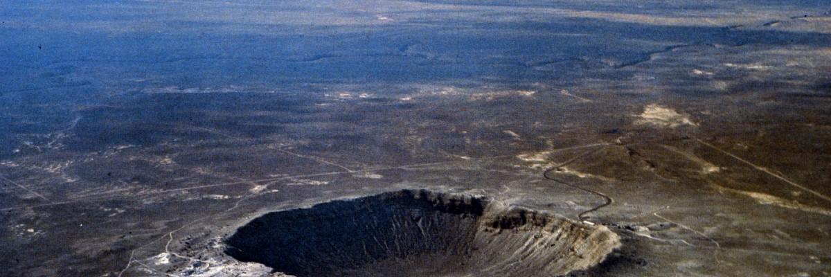 Barringer Meteor Crater, Flagstaff, Arizona