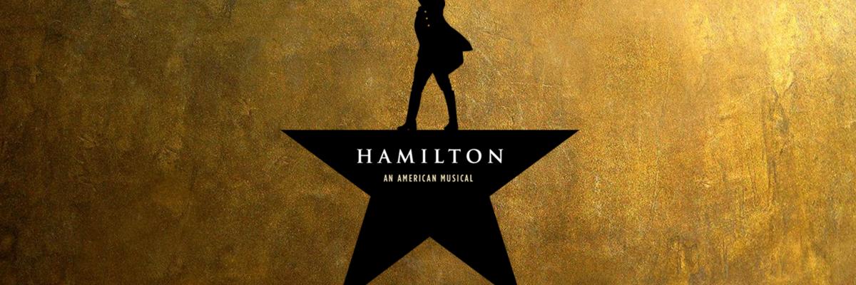 Playbill for Hamilton: An American Musical
