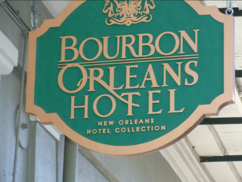 Bourbon Orleans Hotel. Photo via flickr user Richard Martin