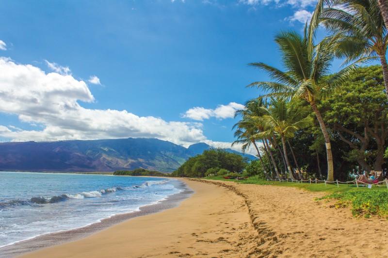 A Maui Beach. Pic via pixabay.com