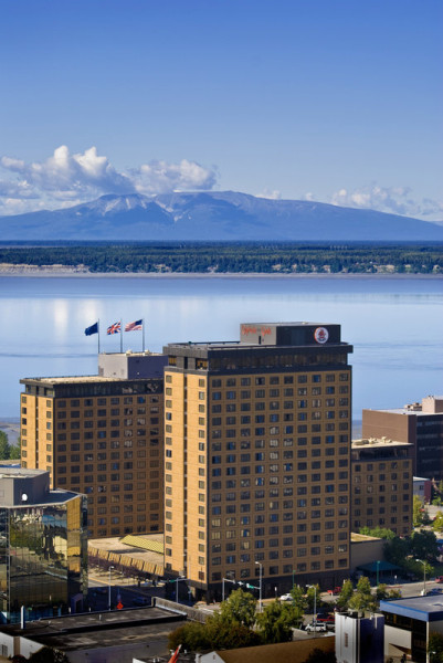 The historic Captain Cook Hotel, Anchorage Alaska