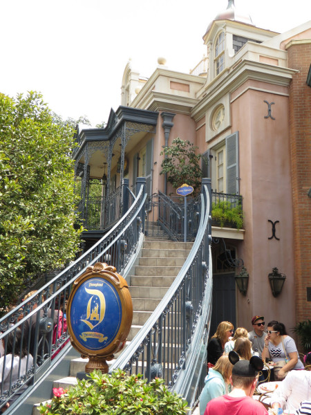 disneyland dream suite entrance