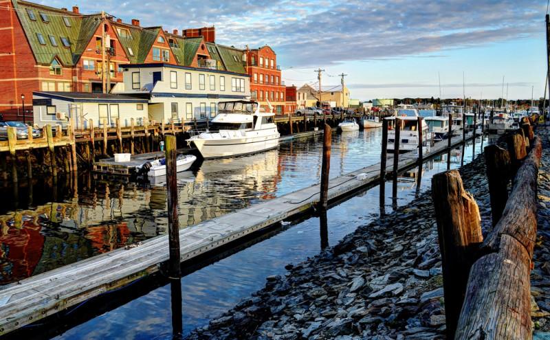 Portland, Maine Docks