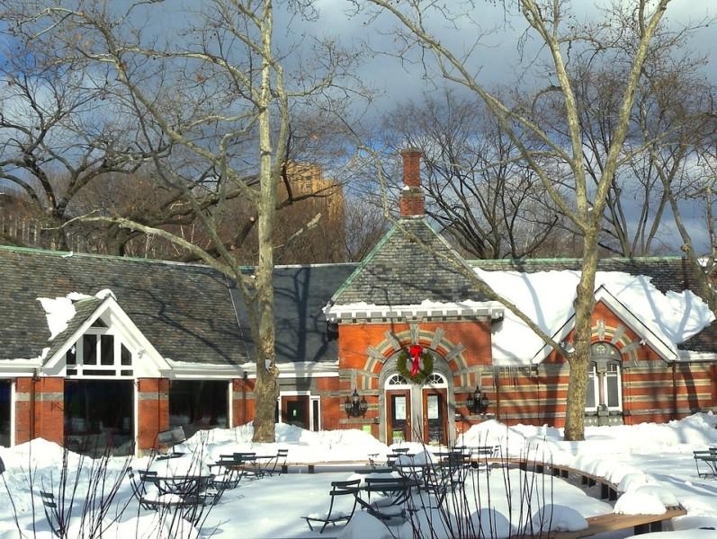 tavern on the green snow