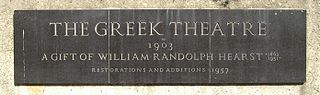 greek theatre sign