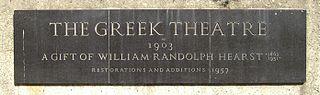 greek theatre sign