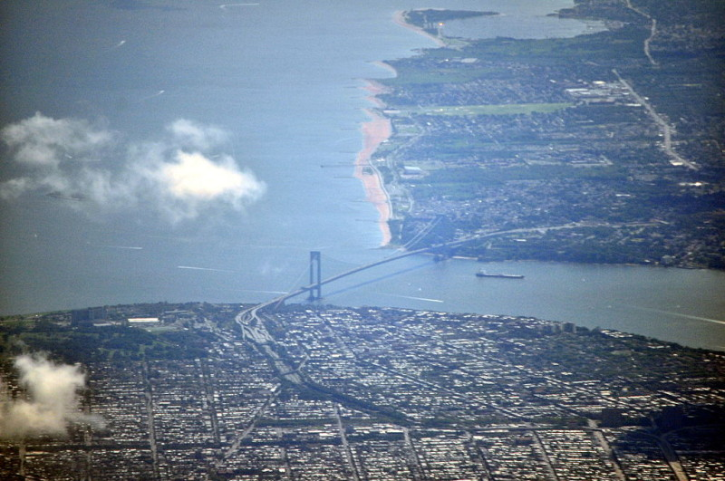 Bay ridge aerial view