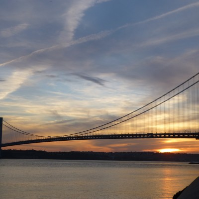 Verrazano Narrows Bridge, Brooklyn, New York. Photo via Pixabay.