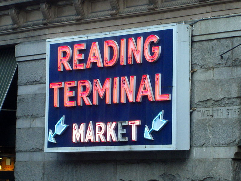 reading terminal market sign 2