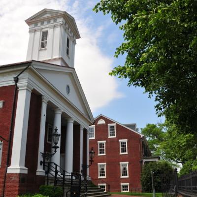Presbyterian Church in Fredericksburg, Virginia.  Photo via wikipedia by Roger Price
