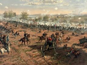 Thure_de_Thulstrup_-_L._Prang_and_Co._-_Battle_of_Gettysburg_-_Restoration_by_Adam_Cuerden_(cropped)-1