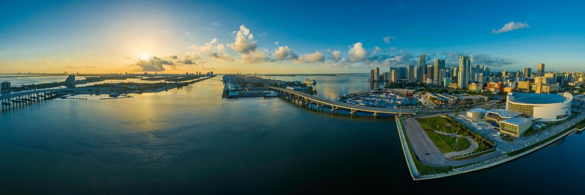 Panorama of Miami. Photo courtesy of Pixabay.