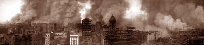 1906 earthquake and fire