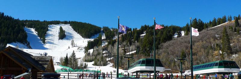 skiing deer valley